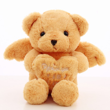 Wholesale Teddy Bear Valentine Day Soft Plush Teddy Bear Huging