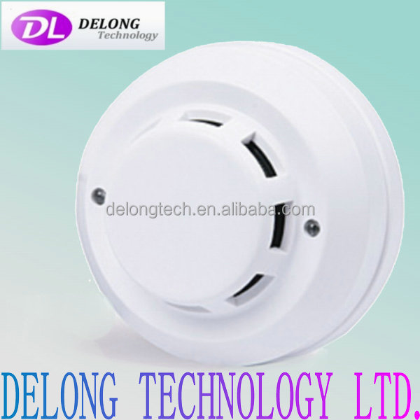 CE 4-wired photoelectronic cigarette smoke detector with relay output