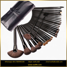 Multi-Purpose Cosmetic Soft Synthetic Hair 32 pcs rose cosmetic brush