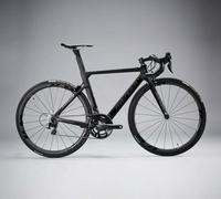 700x23C carbon fiber aero road cross frame with R8-Black painting