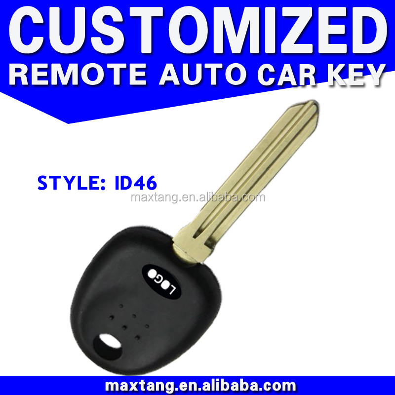 Transponder Chip Ignition Key Blank Tibby Blade ID46 Remote Smart Key MTF-101108