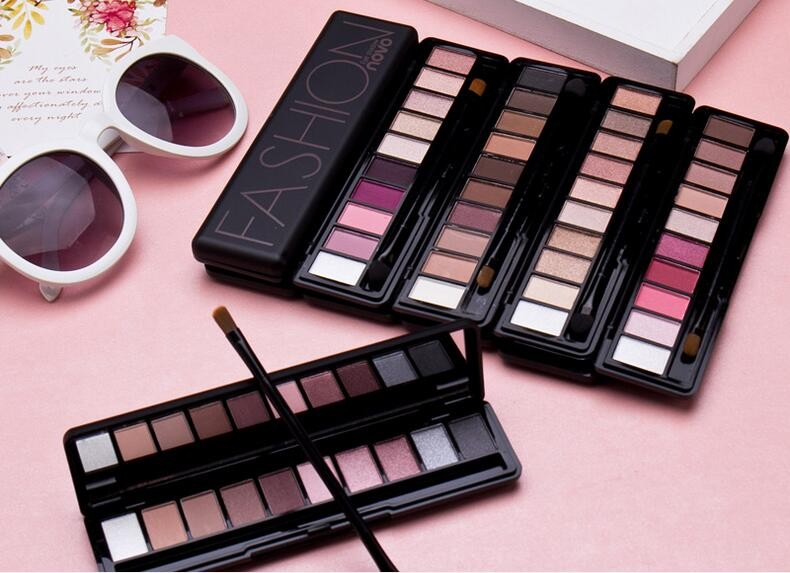 10 Colors Matte & Pearl Eyeshadow Paletten OEM