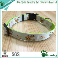 unique designed padded cat/dog collars made in China