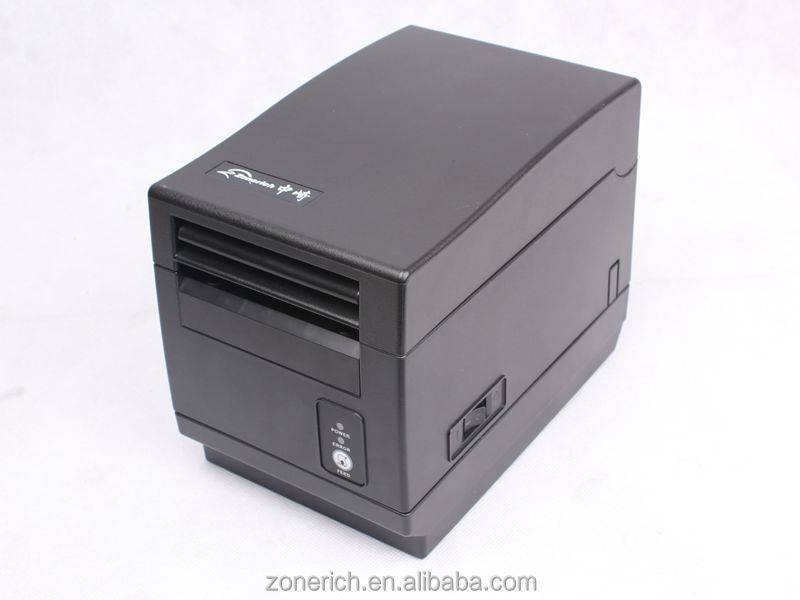 3 inch label POS printer with auto cutter for restaurant system ZQ-F800 from Zonerich