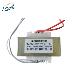 dry type EI single phase auto custom transformer for robot 100VA with full copper winding