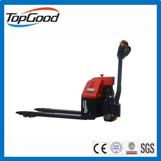 Small electric pallet truck, mini pallet truck, electric pallet jack