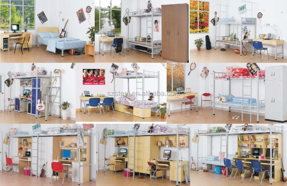 Letto A Castello Per Adulti : Esercito ostello 3 persona loft letti a buon mercato dormitorio
