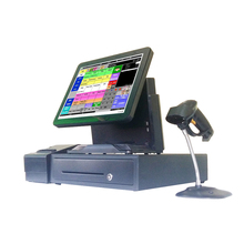 manufacture ordering pos systems used in windows terminal all in one pos machine computer monitor for receipt system 1618