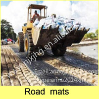 UHMWPE/HDPE Road Mat Enable Access Over Soft and Muddy Terrain