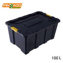100L New Design Rectangular Large Waterproof Industrial garden storage box