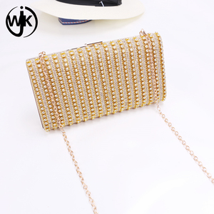 2018 New Design wholesale glitter clutch bag Fashion Pattern Clutch Bag Evening With High Quality crystal clutch bag