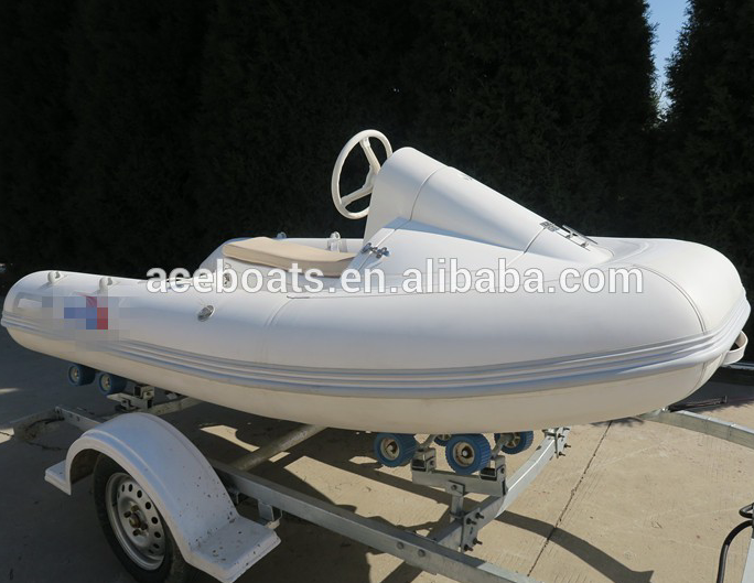China FRP fiberglass rib <strong>boats</strong> with motor RIB-330 mini jet ski for kids for sale!!!