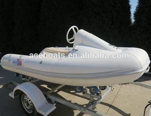 China FRP fiberglass rib boats with motor RIB-330 mini jet ski for sale!!!