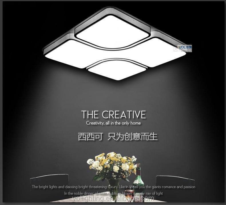 Modern Design Acryl Geleid Plafondverlichting Lampen Slaapkamer ...