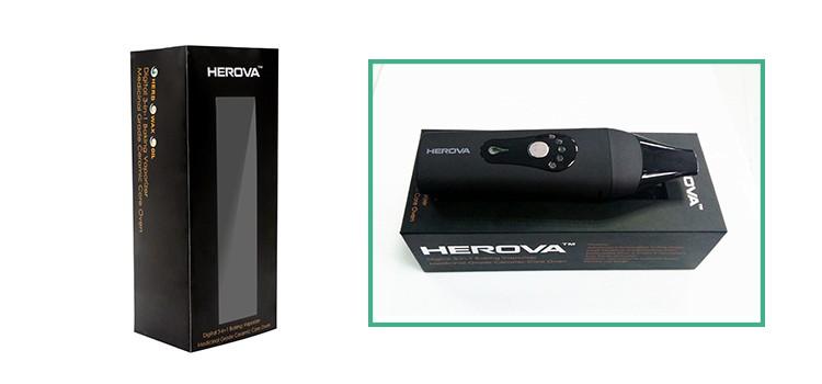 Portable 3 in 1 Vape Pen Dry Herbal VaporizerHerova