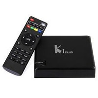 K1 Plus Amlogic S905 with DVB T2/S2 hot selling 2016 Android STB /DVB/tv box quad core 5.1 OS