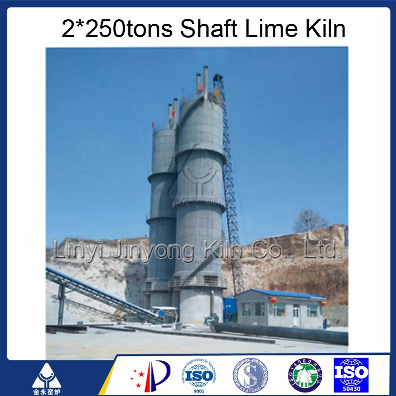 200 Tons Lime processing vertical Kiln
