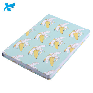 Bulk promotion high quality notebook with personalized printing logo A4/A5/A6 hardcover banana shape paper notebook