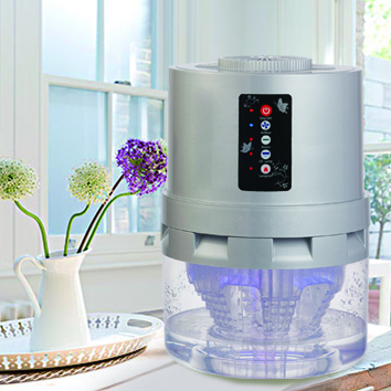Water Based Air Purifier with Photo-catalyst TIO2 UV Sterilizing