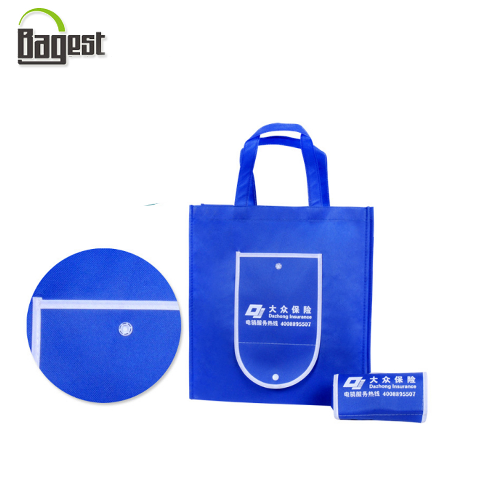 Foldable Market Shopping TNT Recycled Non Woven Bag
