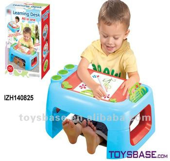HOT Plastic Children Writing Table Kids Studying /drawing Desk