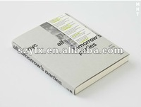 2012 paper back book printing service with high quality low price perfect binding