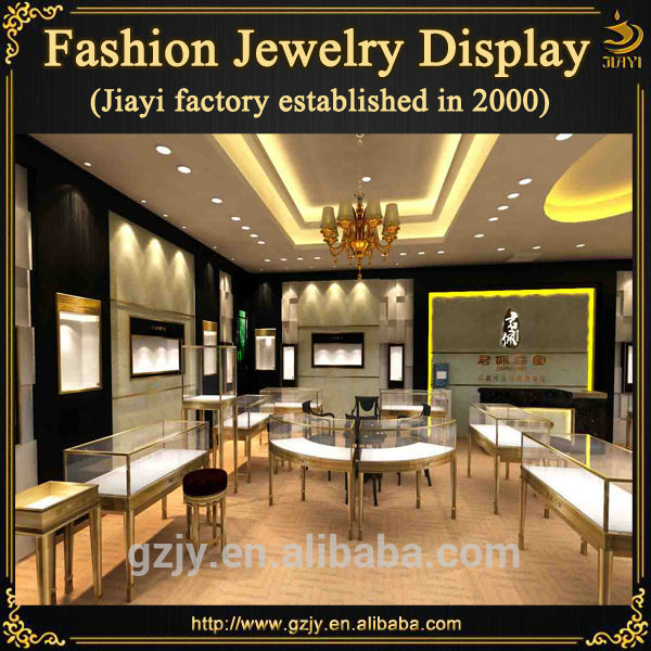e70950760 High-end interior decoration jewellery showroom furniture design for jewelry  exhibition