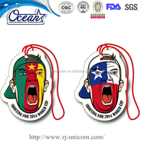 paper car air freshener/customized shape
