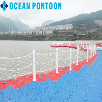 Floating Aquaculture Fish Farming Cages Modular Plastic Pontoon ...