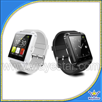 Smart bluetooth watch with alarm clock pedometer