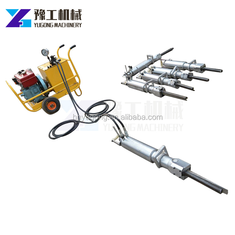 Stone Rock Splitting Tools Breaking Tools hand held rock breaker