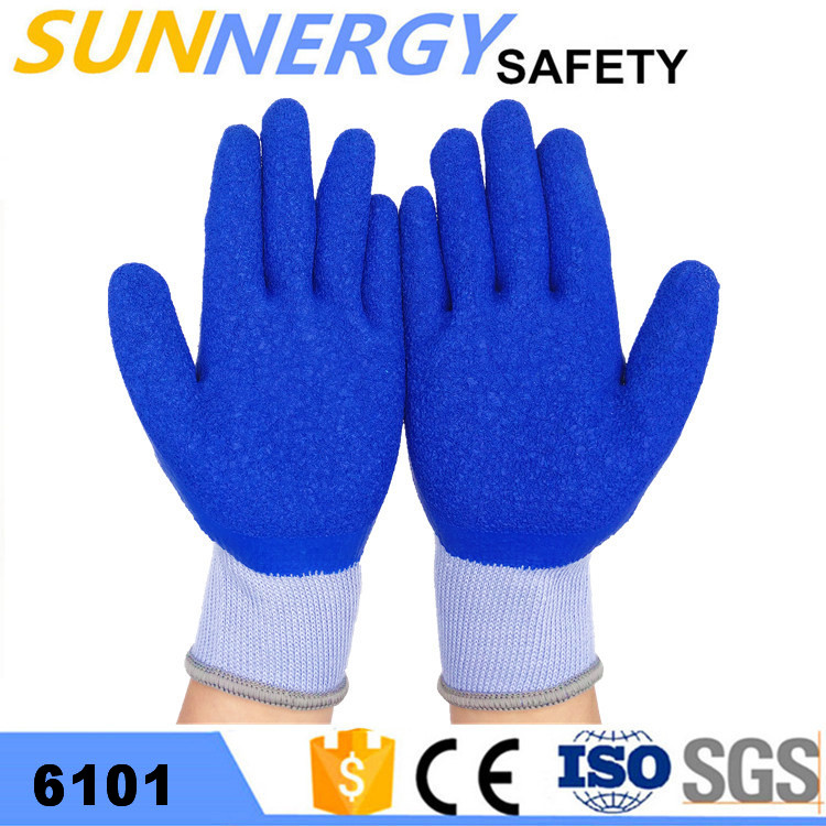 cheap leather work CE cotton gloves custom driver hand protection