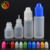 empty 3ml 5ml 10ml 15ml 20ml 30ml plastic pe sterile vial squeeze dropper bottle for e liquid