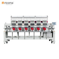 Ricoma High Speed 6 Head Machine Embroidery