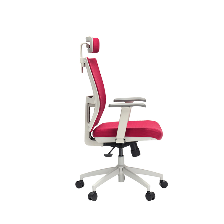 Meeting room office chair comfortable fabric high back office chair task chair with adjustable armrest
