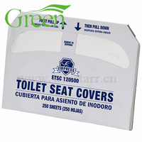 Cheap portable paper toilet seat cover travel disposable