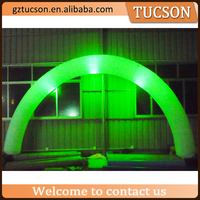 Guangzhou customized giant inflatable led light arch for sale