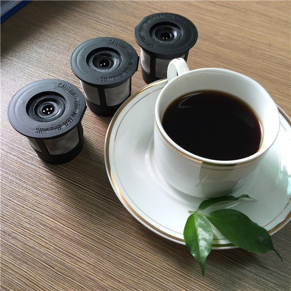 4 Filters in One White Box High Quality Permanent K Cup Coffee Filter fits for Keurig Machine