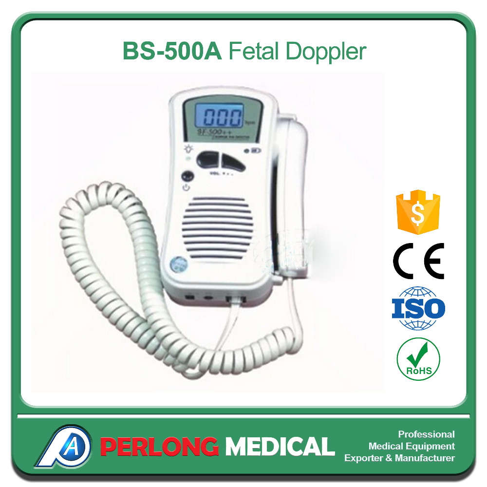 BS-500A Fast delivery baby sound fetal doppler FDA ISO CE approval