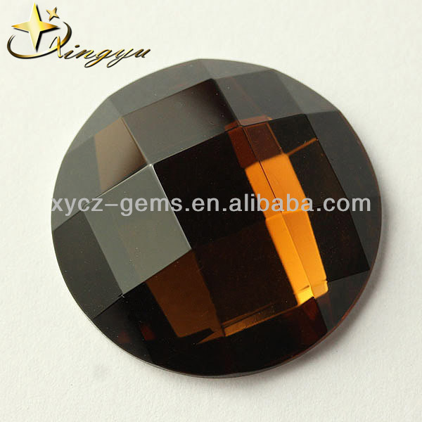 Amber Stone For Dresses Gemstones Facet Round Beads