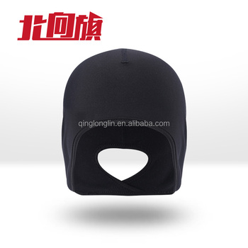 084e9baf4b9171 Winter Fashion Running Hats with Earflaps Whole Sale Winter Cycling Fleece  Thermal Cap Helmet Liner Skull