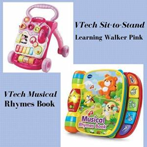 Buy Vtech Musical Rhymes Book Pink Online Exclusive In Cheap
