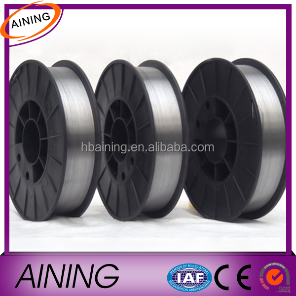 Non Copper Coated Welding Wire With CO2 Gas Shielding