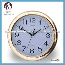 "12 ""reloj de pared con el logotipo"