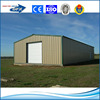 easy assembly prefabricated barns light steel structure warehouse building
