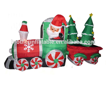Online Shopping Cheap Price Home Decor Merry Christmas Decoration Items Inflatable Christmas Train Ornaments Buy Christmas Train Model