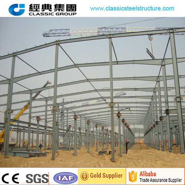 Construction preengineering steel frame structure warehouse/steel structure