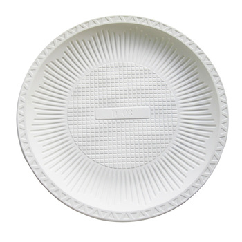 Custom Eco-friendly Corn Starch Biodegradable Compostable Disposable Plate,  View corn starch Plate, WAFADPM Product Details from Zhejiang Wafa