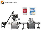 1-5000g automatic powder filling can seaming machine for flour