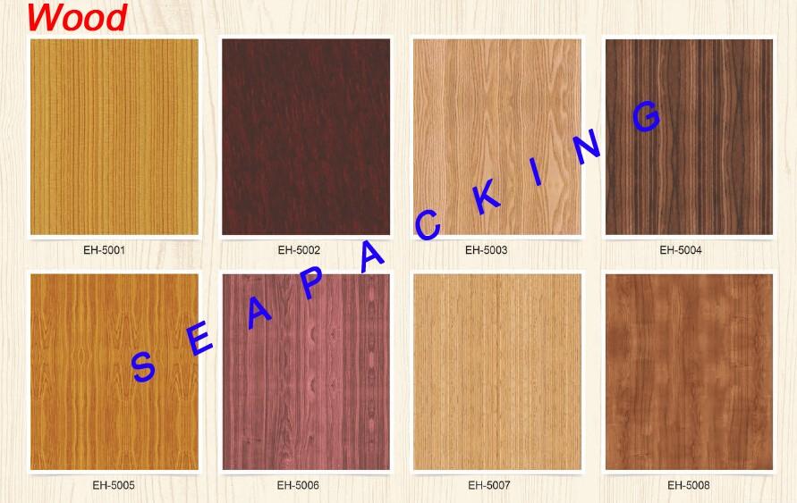 Zelfklevende hout film wallpapers sticker voor nieuwe huis inter